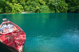 Blue Lagoon in Portland, Jamaica
