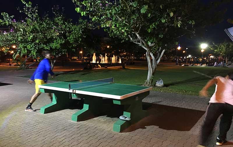 Ping Pong at Emancipation Park