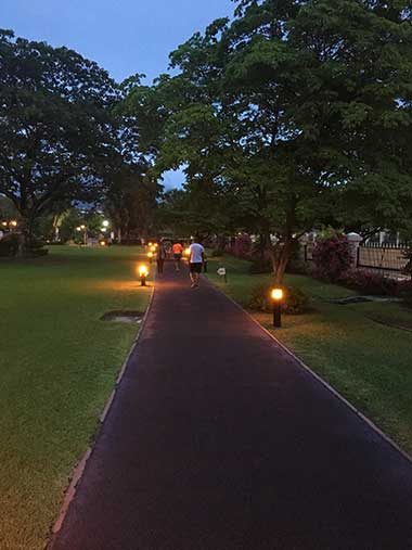 Jogging Path at Emancipation Park