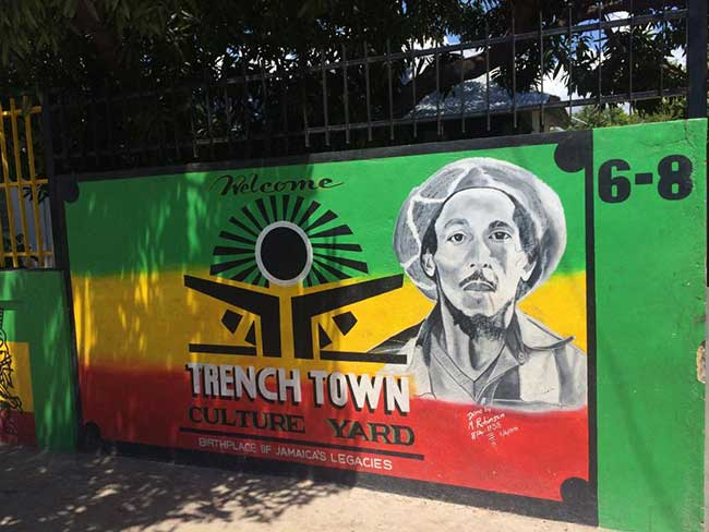 Culture Yard in Trench Town Jamaica | Things to do in Jamaica