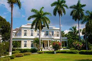 Picture of Devon House in Kingston Jamaica