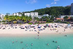 Doctors Cave Beach in Montego Bay Jamaica