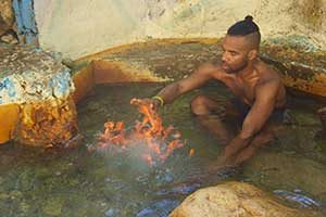 Firewater mineral healing spring in Ocho Rios