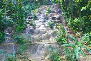 Konoko Falls and Park in Ocho Rios, Jamaica