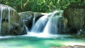 Mayfield Falls in Westmoreland Jamaica
