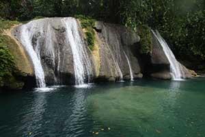 Reach Falls in Jamaica