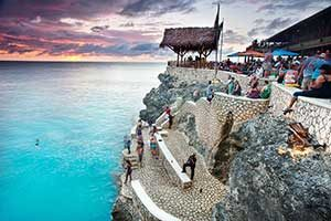Ricks Cafe in Negril Jamaica