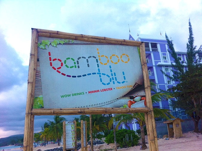 Bamboo Blu Is An Open Air Restaurant And Bar Located On A Private White Sand Beach Very Close To Ocho Rios In Jamaica