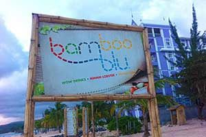 Bamboo Blu Beach in Mammee Bay