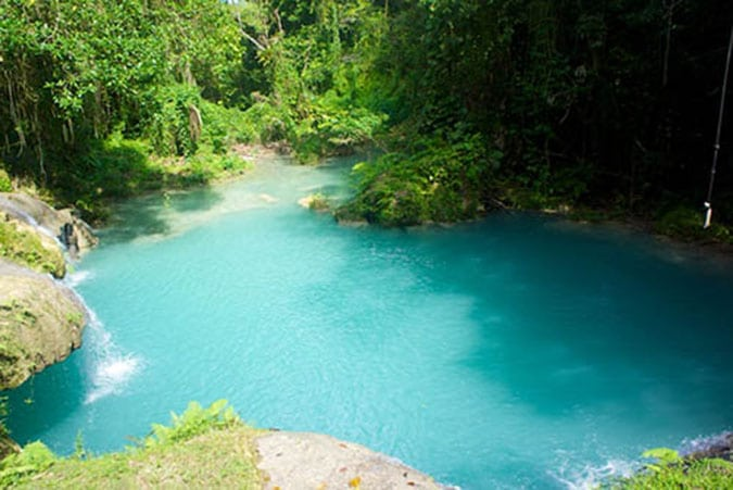 Main Pool at the Blue Hole.