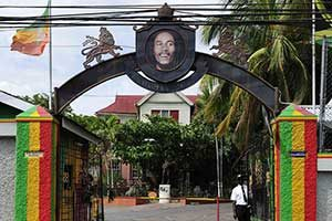 Bob Marley Museum in Kingston