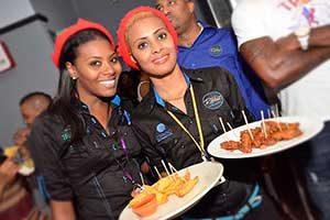 Ribbiz Ultra Lounge staff