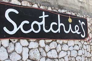 Scotchies Jerk Restaurant in Montego Bay
