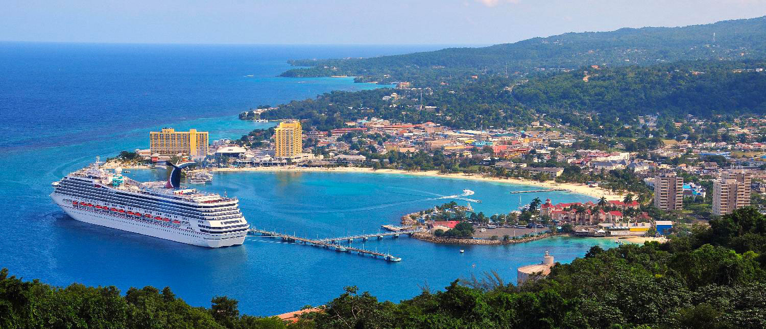 Shot Of Ocho Rios Pier