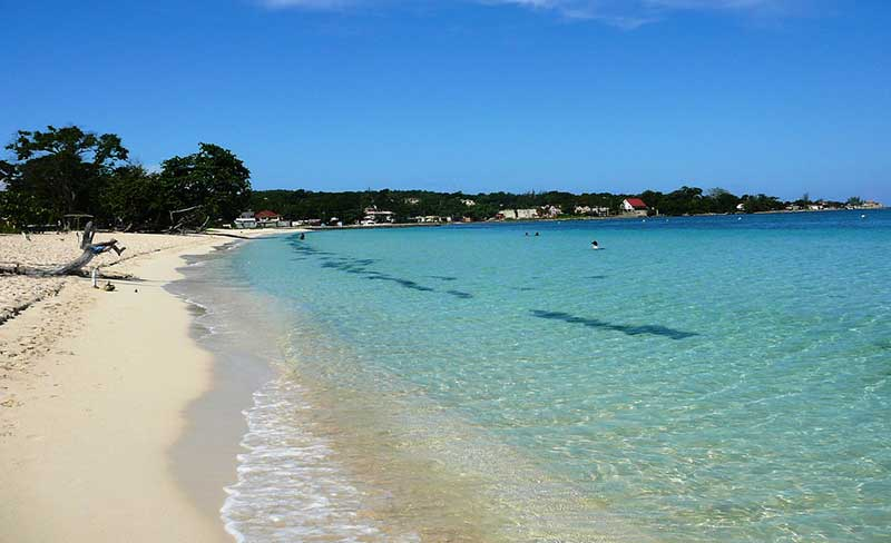 Seven Mile Beach in Negril 2