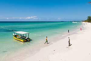 Seven Mile Beach in Negril