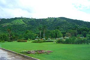 Hope Botanical Gardens in Kingston, Jamaica