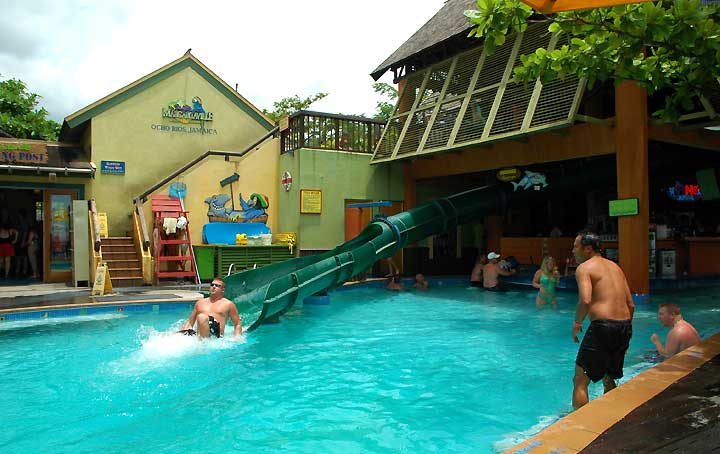 Waterslide at Margaritaville Ocho Rios