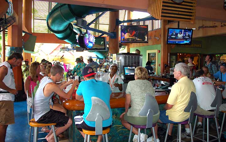 Bar at Margaritaville Ocho Rios