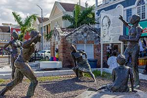 Sam Sharpe Square in Montego Bay