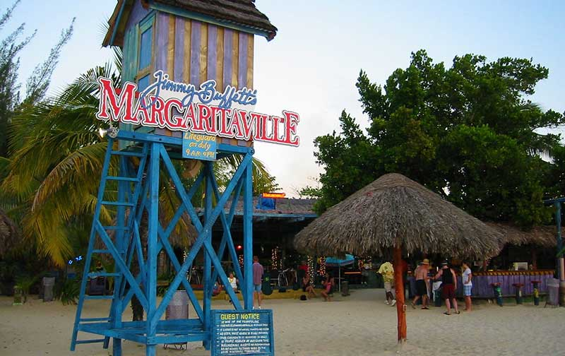 Margaritaville Negril view from sand