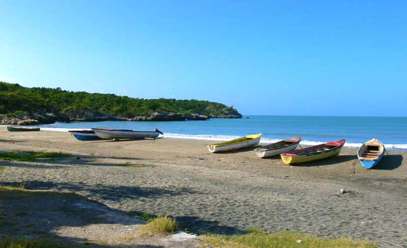 Fishing Boats In Treasure Beach