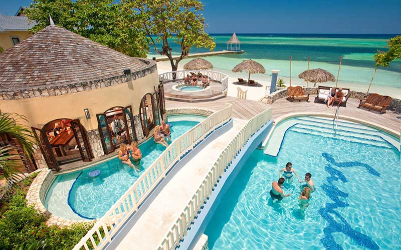 Sandals Montego Bay Pool